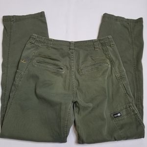 PrAna Mens Sz Small Olive Green Carpenter Pants